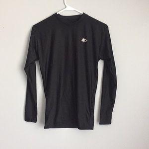Black warming shirt